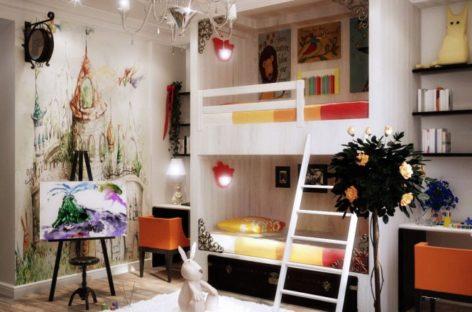 Những phòng trẻ em đầy sắc màu