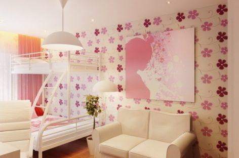 Phòng ngủ xinh xắn, đa năng cho công chúa nhỏ
