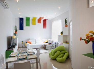 Sáng tạo riêng cho không gian sống trong căn hộ ở Budapest