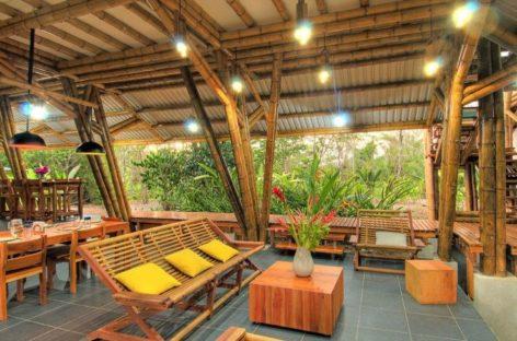 Vẻ đẹp độc đáo của khu nghỉ dưỡng Casa Atrevida được xây dựng từ tre
