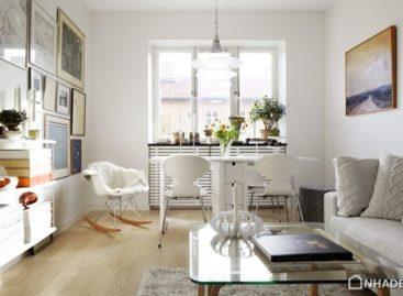 Thiết kế căn hộ 47m2 theo phong cách Bắc Âu