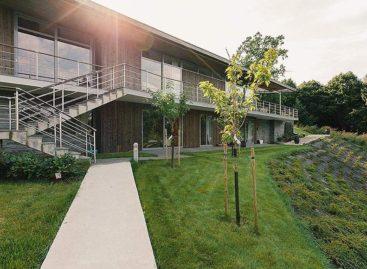 Ấn tượng với thiết kế sang trọng và hiện đại của toà nhà trên đảo Lidingö