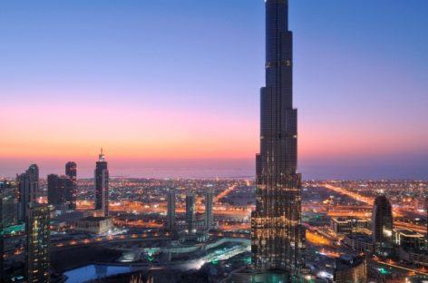 Khám phá khách sạn bên trong tòa tháp cao nhất thế giới
