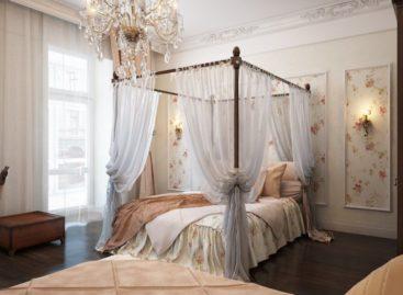 Những phòng ngủ truyền thống lãng mạn