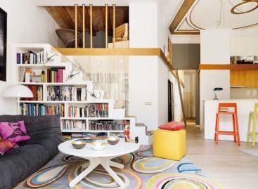 Độc đáo sự phối hợp màu sắc ở căn nhà Barcelona