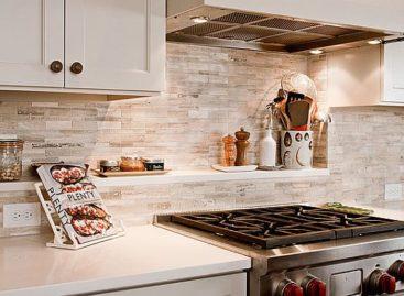 Lựa chọn tấm chắn tường bếp thích hợp cho không gian bếp nhà bạn