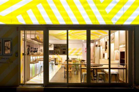 Không gian thân mật và ấm cúng của nhà hàng Play Pot