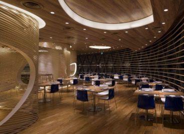 Khám phá thiết kế nội thất độc đáo của nhà hàng Nautilus