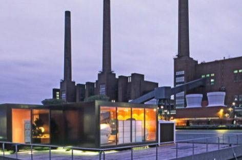 """KTS Max Wehberg và thiết kế spa """"nước nổi"""" ở Wolfsburg, Đức"""