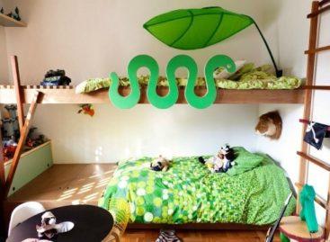 Độc đáo và ngộ nghĩnh với những kiểu giường dành cho trẻ em