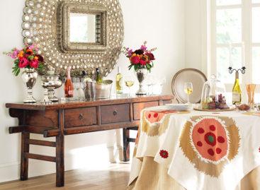 Trang trí nội thất với những chiếc gương chim công kiêu kỳ