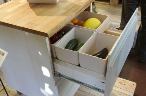 Ngăn tủ đựng thức ăn tự làm mát