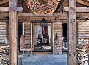 """Chiêm ngưỡng """"Ngôi nhà gỗ sồi"""" hướng tầm nhìn ra dãy núi Mont Blanc"""
