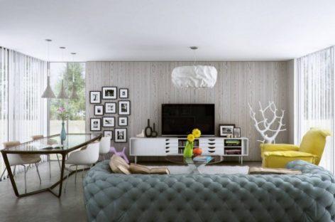Thiết kế nội thất cho những căn hộ sang trọng và hiện đại