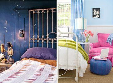 Ấn tượng phòng ngủ nhiều màu sắc