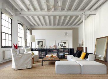 Dạo quanh căn hộ mang phong cách New York ở Barcelona