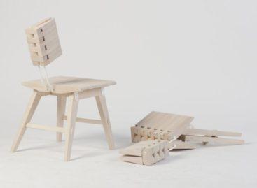Ghế xếp Ossa của Johannessen/ Clarke