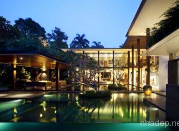 Đến thăm ngôi nhà Serene Sun độc đáo tại Singapore