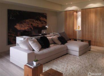 Vẻ đẹp mộc mạc và tinh tế của một căn hộ Châu Á