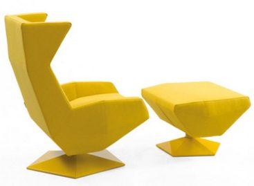 Vẻ hiện đại của chiếc ghế mang phong cách Origami