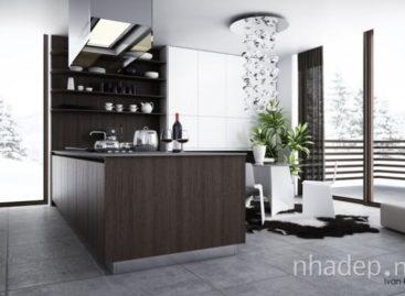 12 mẫu thiết kế nhà bếp kết hợp với phòng ăn độc đáo