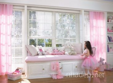 15 căn phòng màu hồng dành cho bé gái