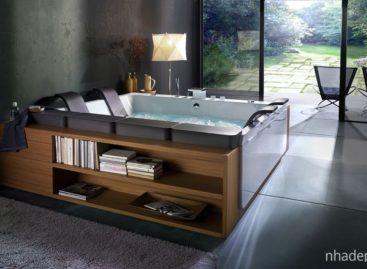 Mẫu bồn tắm xoáy nước hiện đại của Blubleu