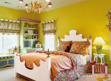 Những gam màu bắt mắt cho phòng ngủ