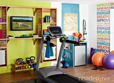Ý tưởng thiết kế phòng tập gym đầy màu sắc