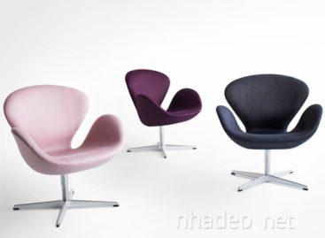 Những đường nét đáng yêu và ngộ nghĩnh của chiếc ghế Swan