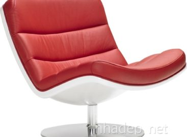 Vẻ đẹp mềm mại và êm ái của chiếc ghế f978