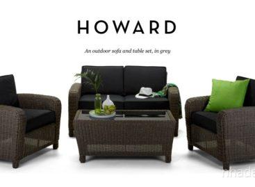 Sang trọng với bộ bàn ghế ngoài trời của Công ty Howard