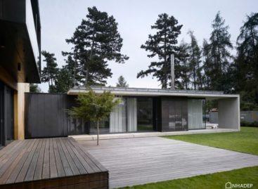 Chiêm ngưỡng không gian mở của ngôi nhà tại Cộng Hòa Séc