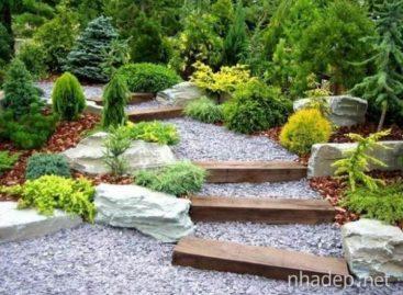 Những ý tưởng trang trí sân vườn thật ấn tượng
