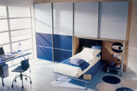 Tiết kiệm diện tích cho phòng ngủ của trẻ với các thiết kế của Mariani