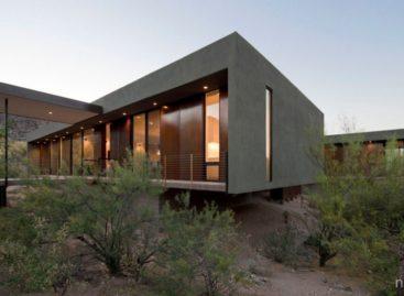 Không gian sống tiện nghi giữa vùng sa mạc khô cằn