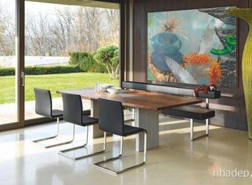 5 thiết kế bàn ăn, ghế tựa và ghế dài từ hãng Girsberger