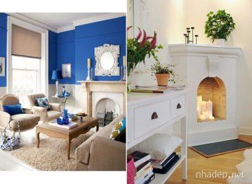 Cách sử dụng lò sưởi trong trang trí nhà cửa