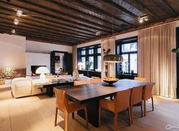 Phong cách thiết kế chiết trung trong căn hộ ở Stockholm