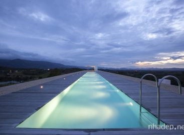 Những ý tưởng thiết kế thú vị cho hồ bơi