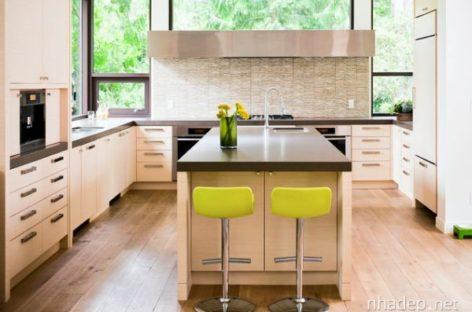10 phối hợp màu sắc cho nhà bếp hiện đại