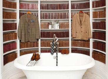 Thư viện trong phòng tắm – một ý tưởng táo bạo?