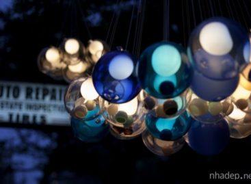 Mẫu đèn treo lung linh đến từ thương hiệu Bocci