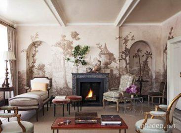Trang trí nội thất độc đáo với tranh tường