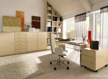 Các mẫu thiết kế phòng làm việc tại nhà của Hulsta