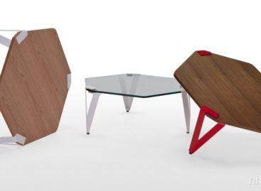 Thiết kế mới lạ của bàn cà phê Hexag