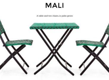 Dã ngoại cùng bộ bàn ghế Mali Bistro