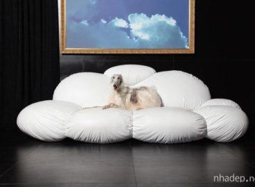 Ghế Sofa hình áng mây: mang đến giấc trưa êm ái