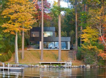 Nhà ven hồ: kiến trúc theo cảm hứng hiện đại ở Vermont
