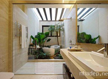 12 mẫu thiết kế phòng tắm mang phong cách nhiệt đới